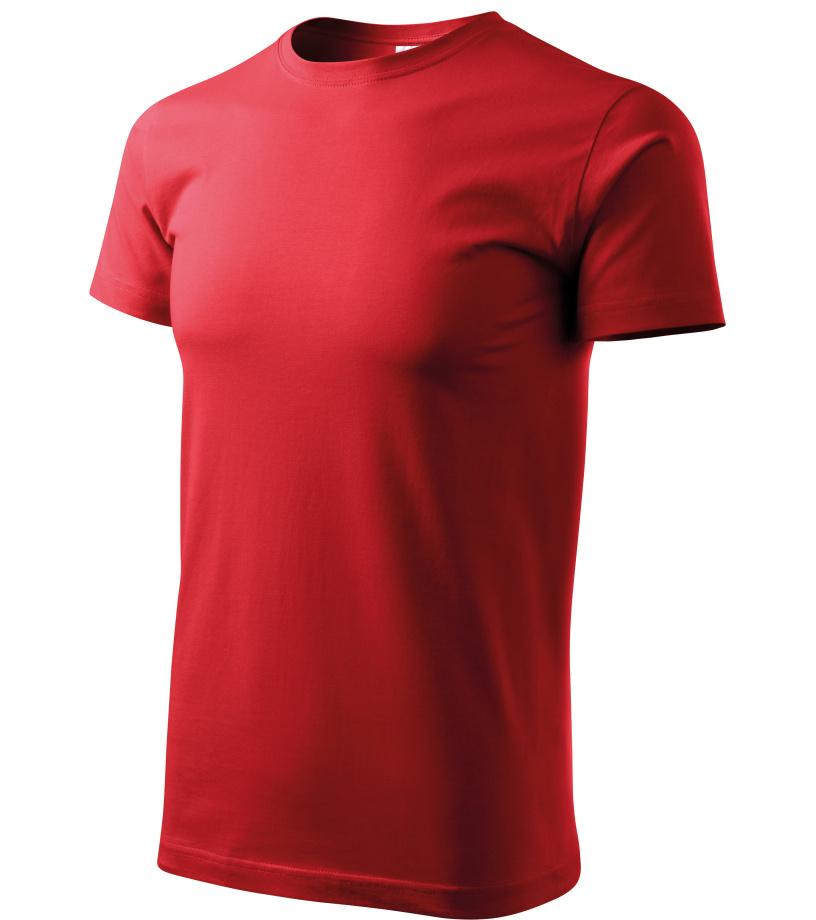 ADLER Basic Unisex triko 12907 červená XXXL