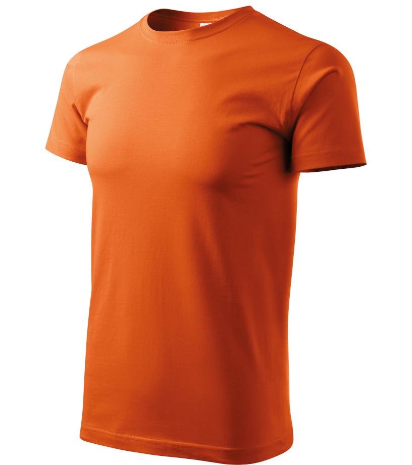 ADLER Basic Unisex triko 12911 oranžová XXXL