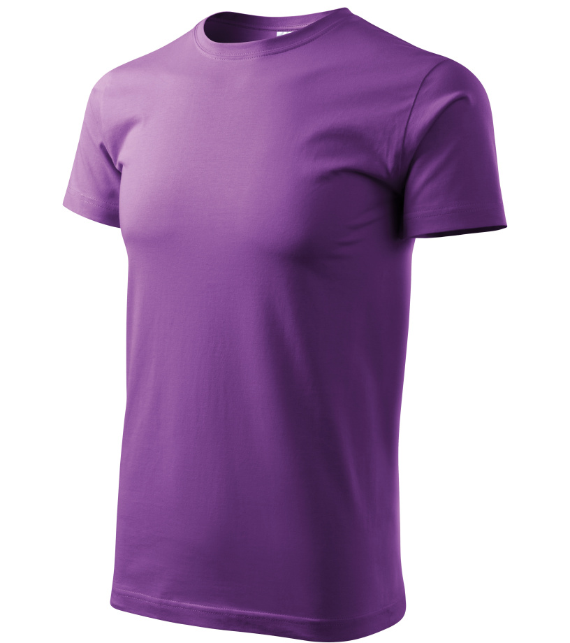 ADLER Basic Unisex triko 12964 fialová XXXL