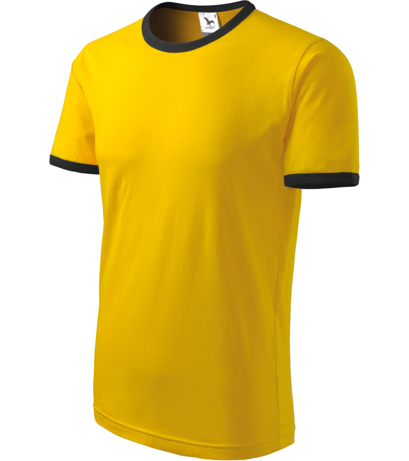 ADLER Infiniti Unisex triko 13104 žlutá