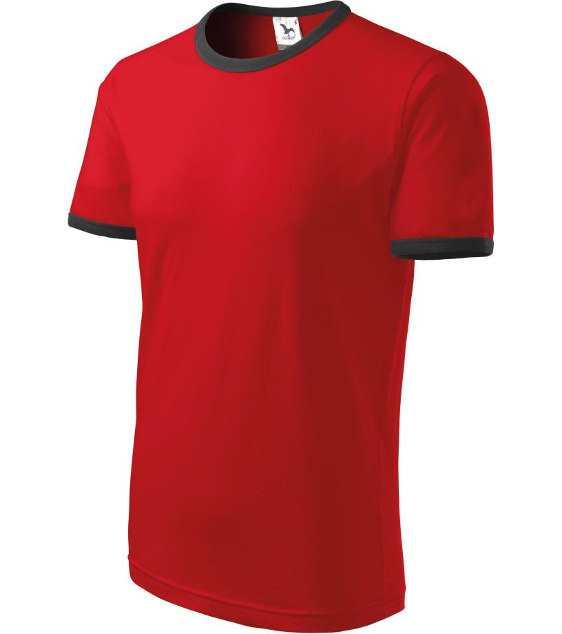 ADLER Infiniti Unisex triko 13107 červená XXXL
