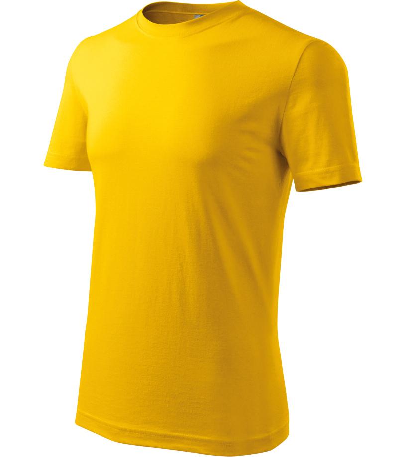ADLER Classic New Pánské triko 13204 žlutá XL
