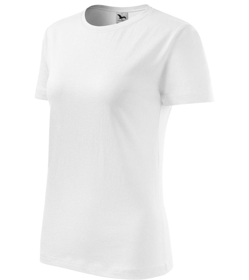ADLER Basic 160 Dámské triko 13400 bílá