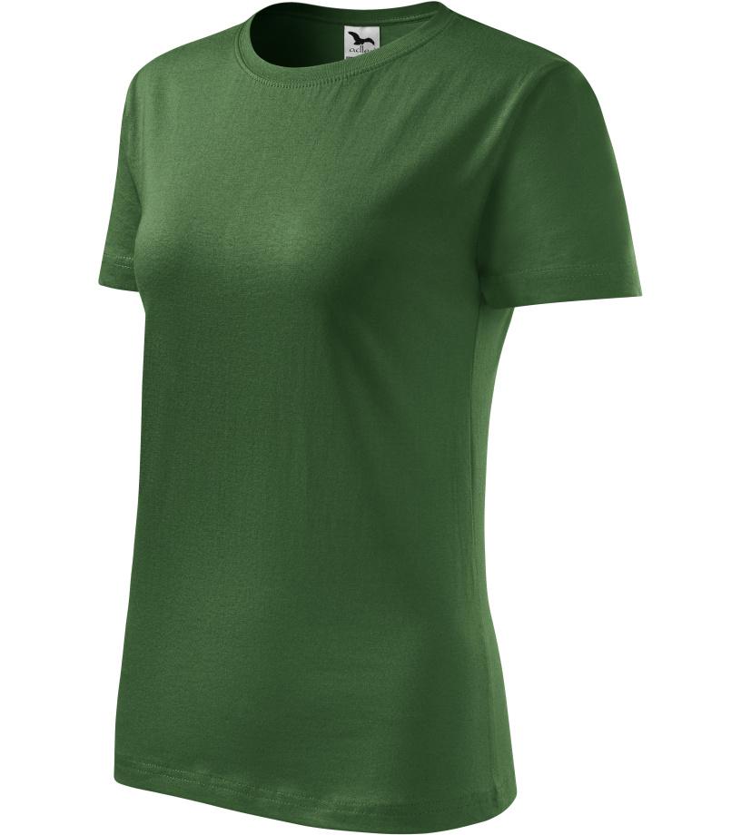 ADLER Basic 160 Dámské triko 13406 lahvově zelená