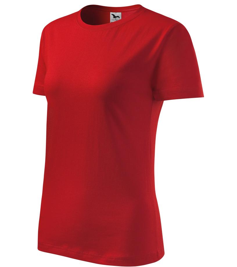 ADLER Basic 160 Dámské triko 13407 červená