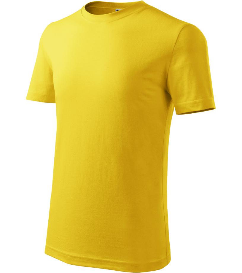 ADLER Classic New Dětské triko 13504 žlutá 146