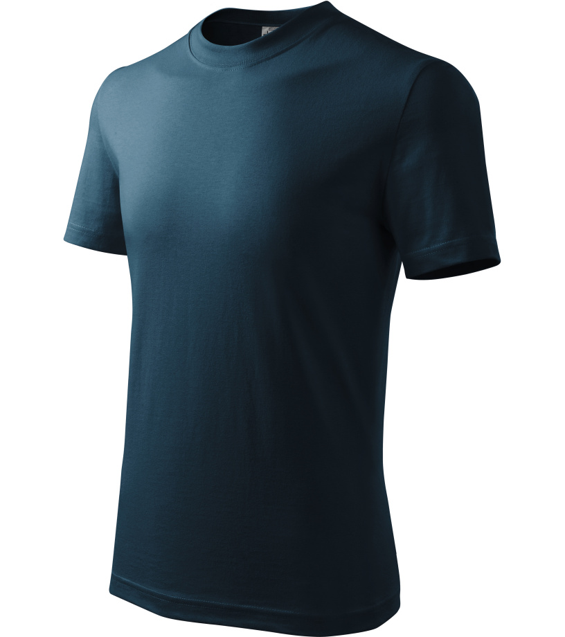 ADLER Basic Dětské triko 13802 námořní modrá