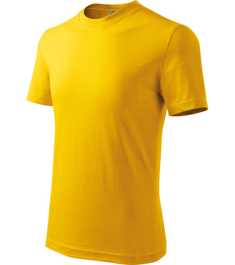 ADLER Basic Dětské triko 13804 žlutá