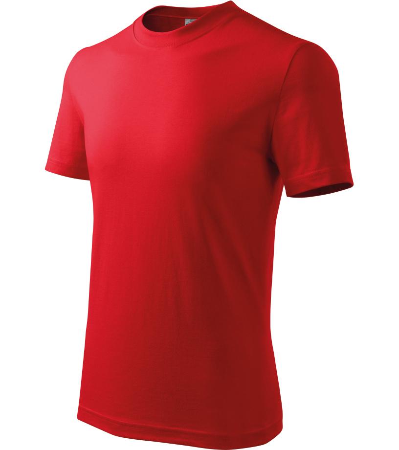 ADLER Basic Dětské triko 13807 červená