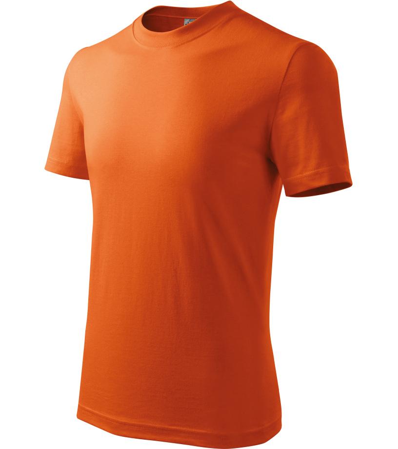 ADLER Basic Dětské triko 13811 oranžová 122