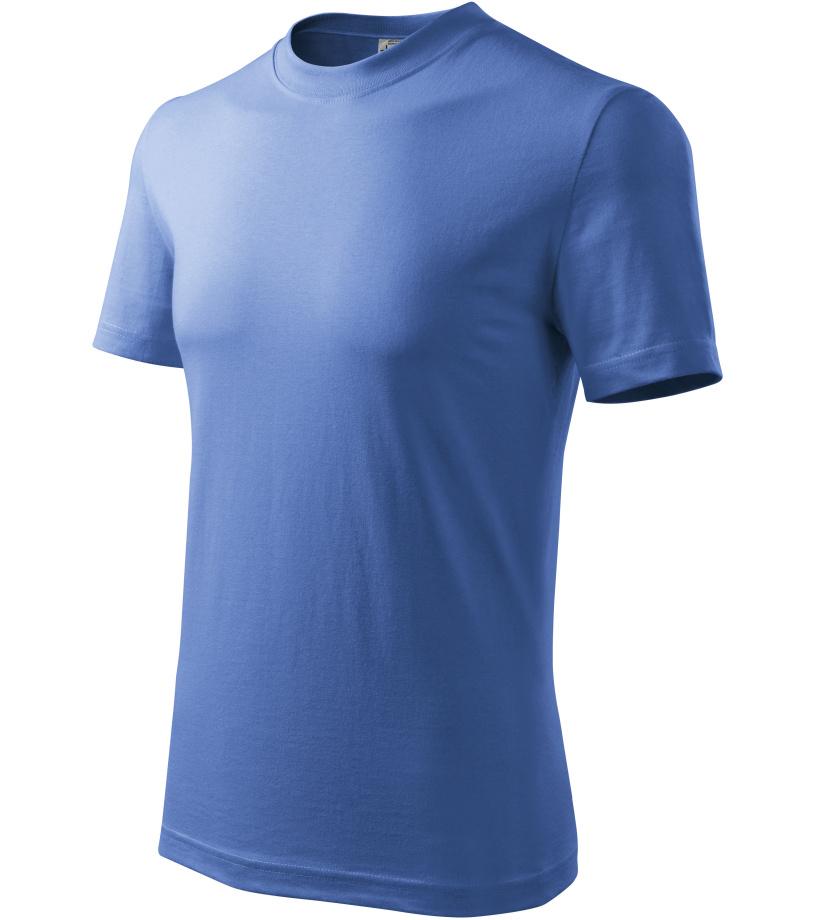 ADLER Basic Dětské triko 13814 azurově modrá