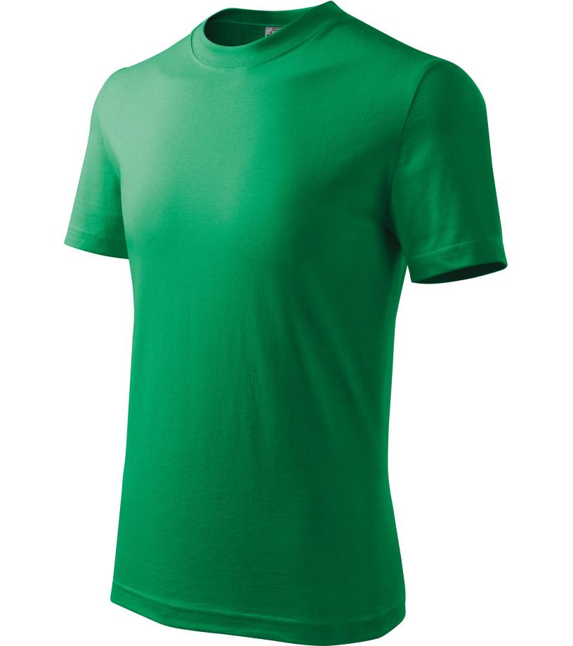 ADLER Basic Dětské triko 13816 středně zelená