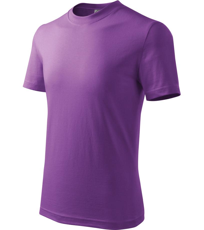 ADLER Basic Dětské triko 13864 fialová 122