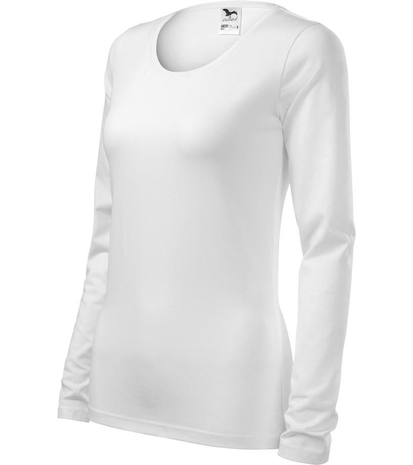 ADLER Slim Dámské triko 13900 bílá XXXL