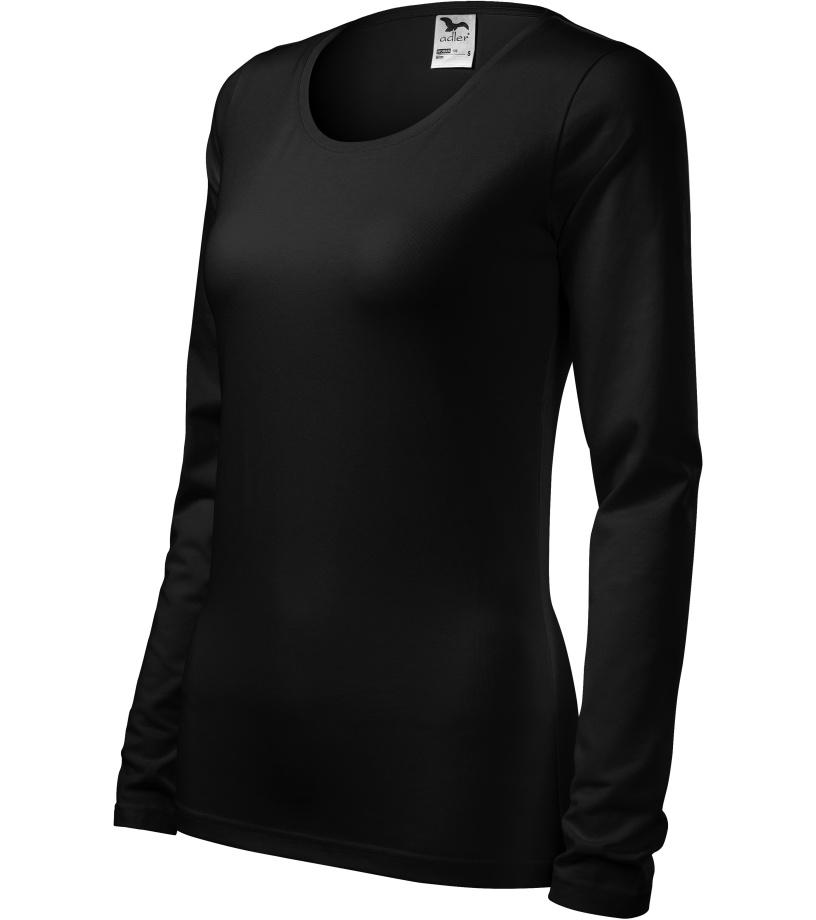 ADLER Slim Dámské triko 13901 černá XXXL