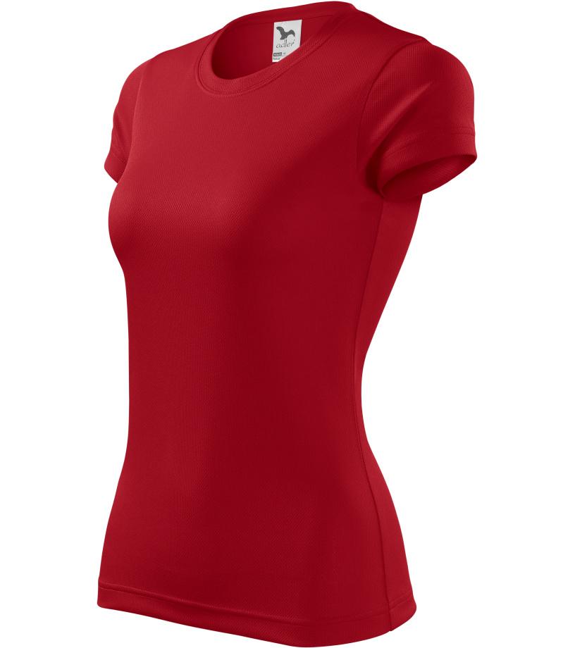 ADLER Fantasy Dámské triko 14007 červená XS