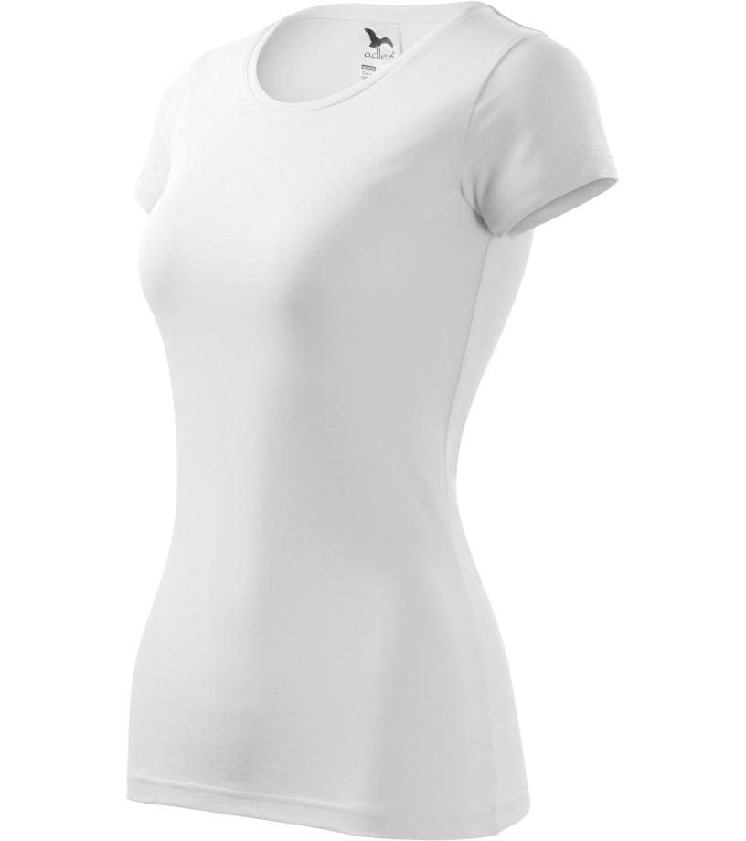 ADLER Glance Dámské tričko 14100 bílá XL