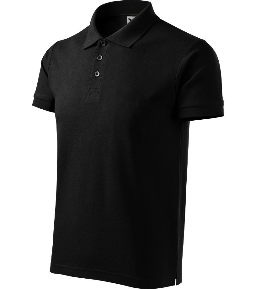 ADLER Cotton Pánská polokošile 21201 černá