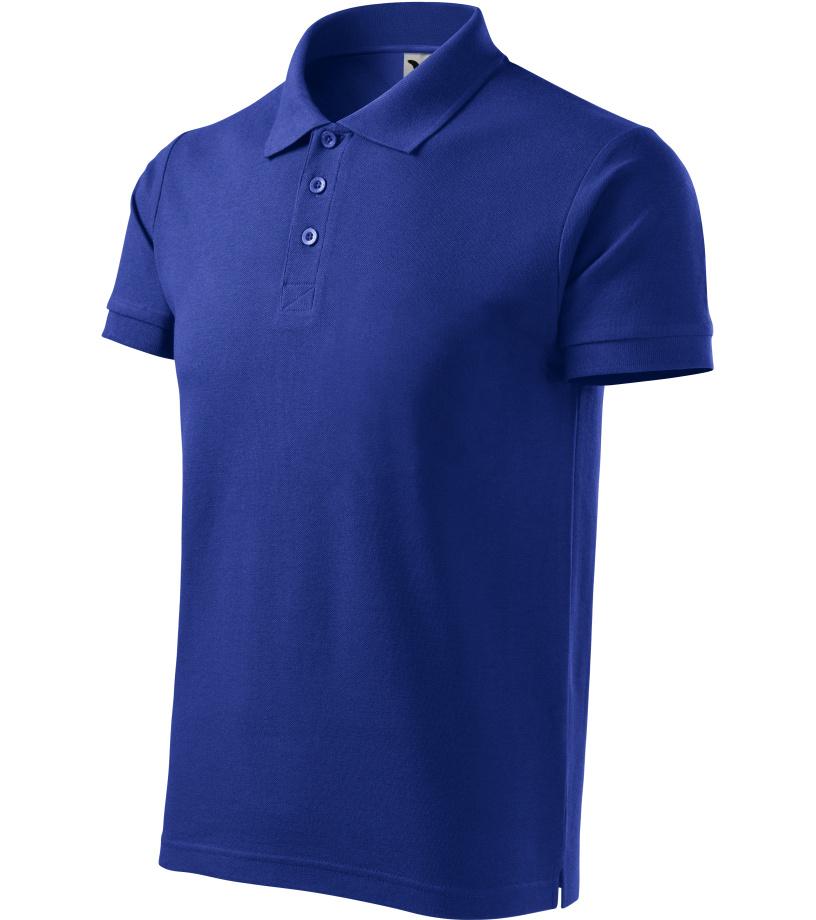 ADLER Cotton Pánská polokošile 21205 královská modrá