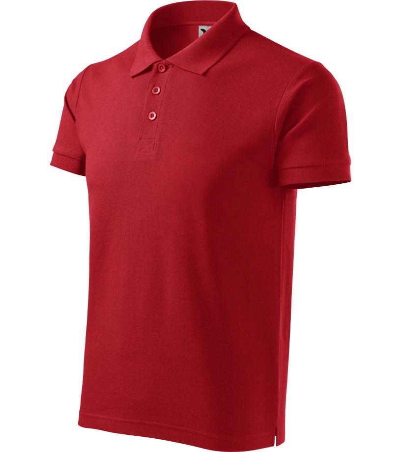 ADLER Cotton Pánská polokošile 21207 červená S