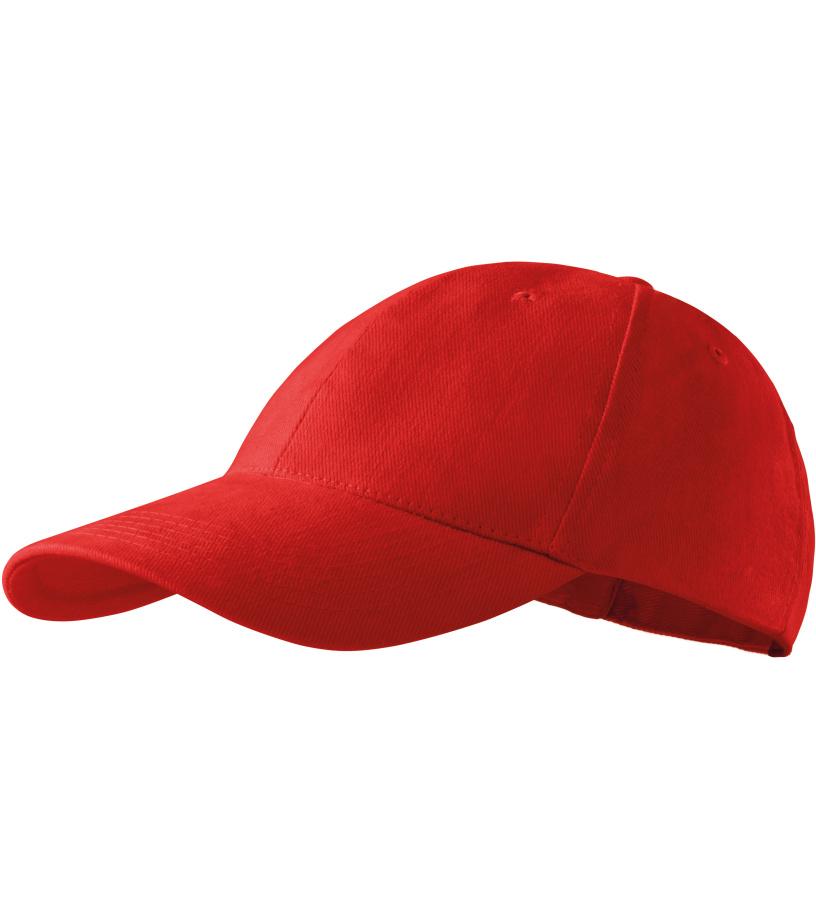 ADLER 6P Kšiltovka 30307 červená variab.