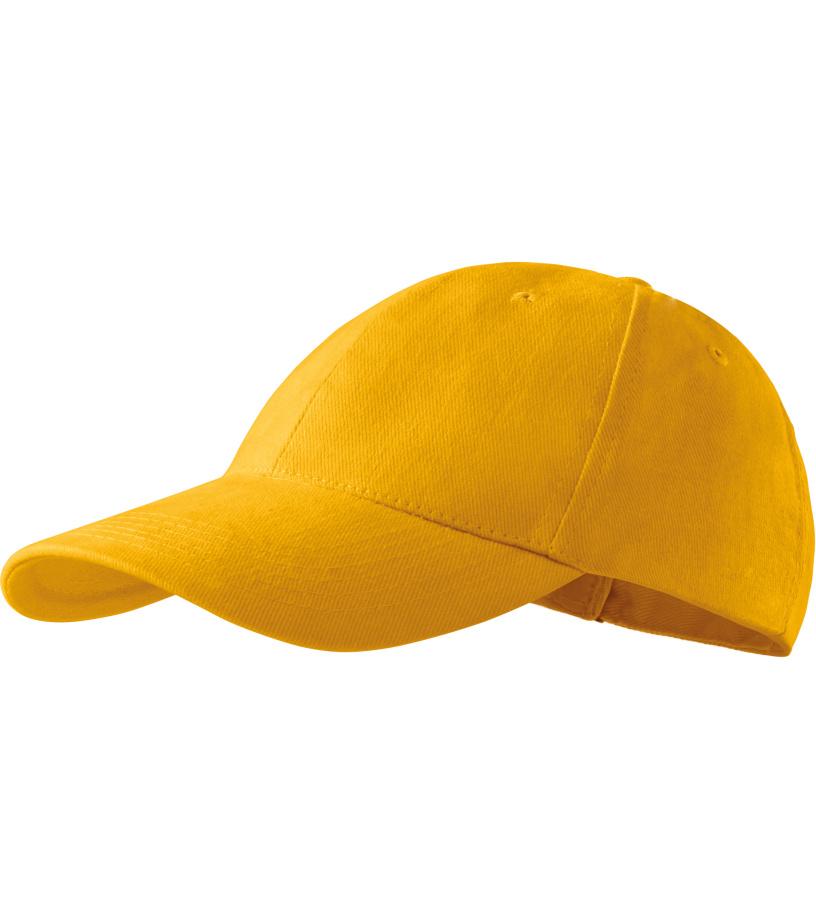 ADLER 6P _Čepice 30541 tmavě žlutá variab.