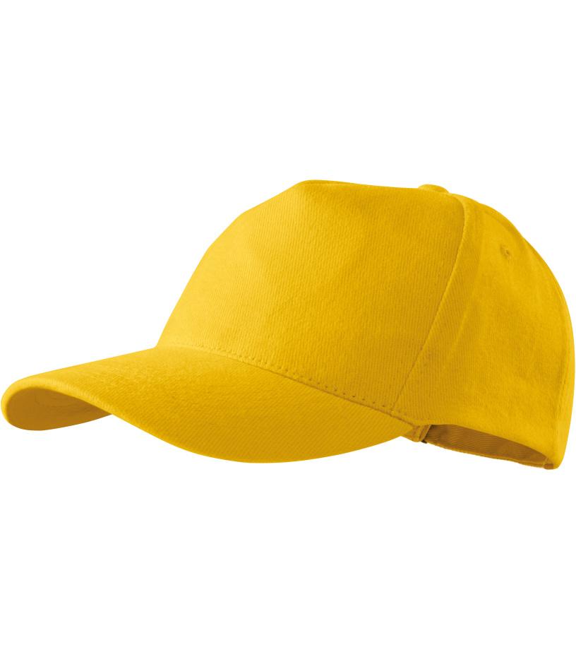 ADLER 5P _Čepice 30704 žlutá variab.