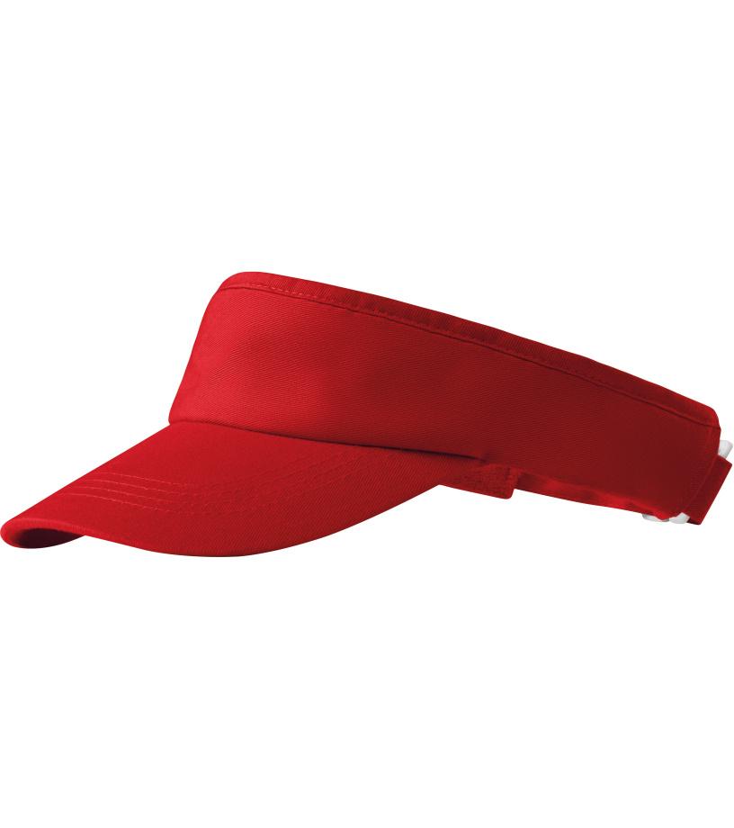 ADLER Sunvisor _Čepice 31007 červená variab.