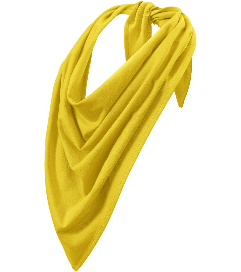 Malfini Fancy _Šátek 32904 žlutá UNI