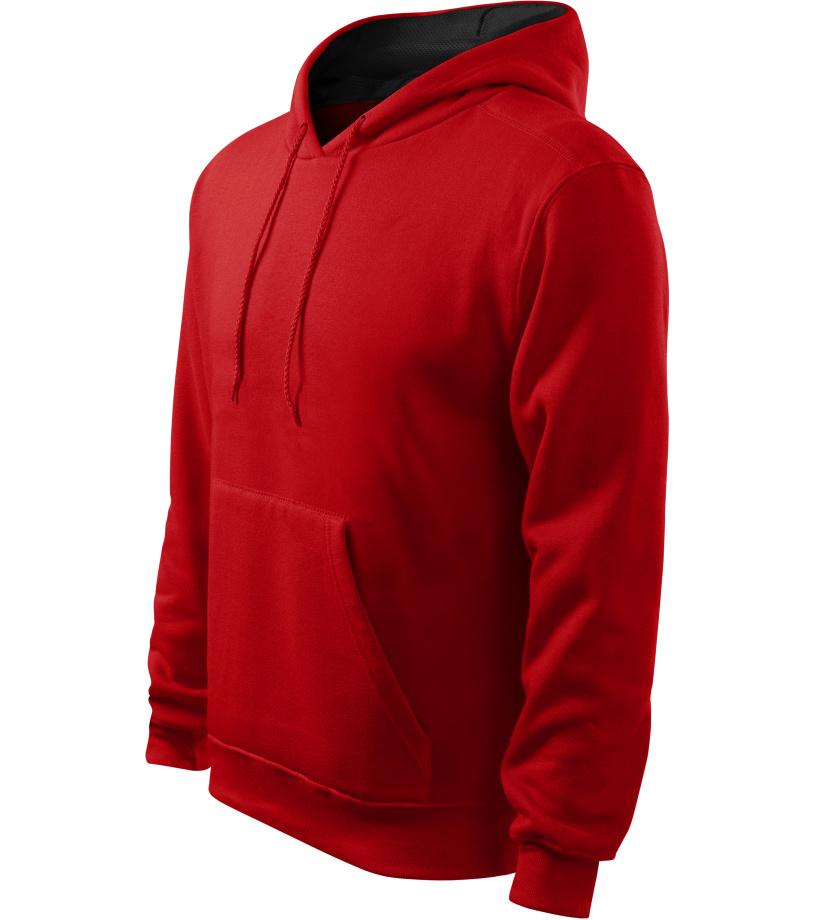 ADLER Hooded Sweater Pánská mikina 40507 červená