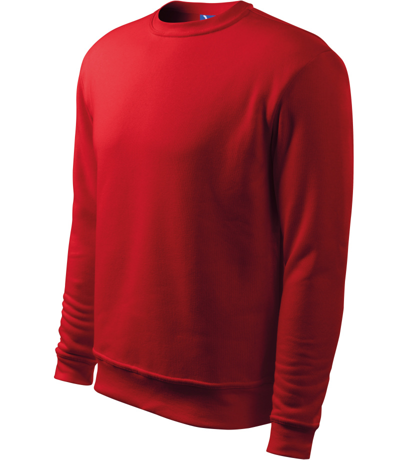 ADLER Essential Pánská mikina 40607 červená L