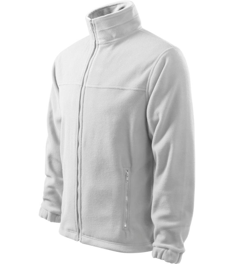 ADLER Jacket 280 Pánská fleece bunda 50100 bílá