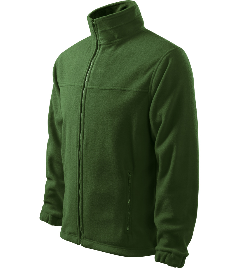 ADLER Jacket 280 Pánská fleece bunda 50106 lahvově zelená M