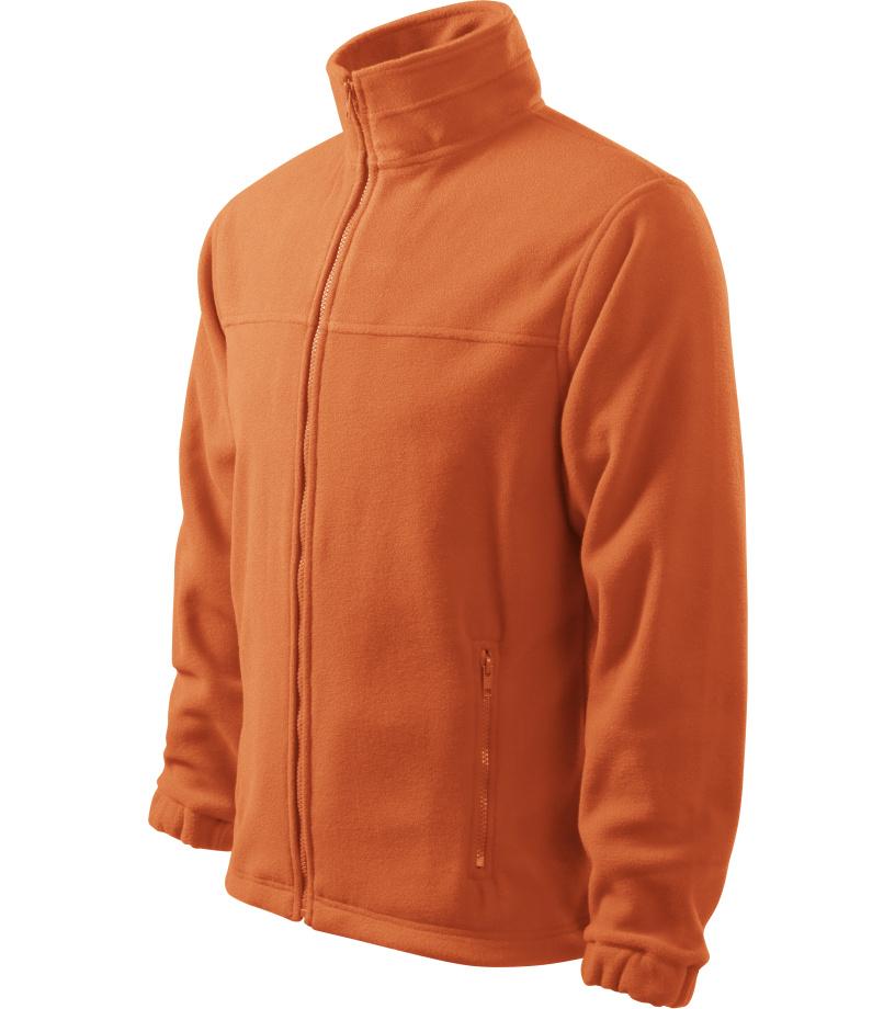 ADLER Jacket 280 Pánská fleece bunda 50111 oranžová S