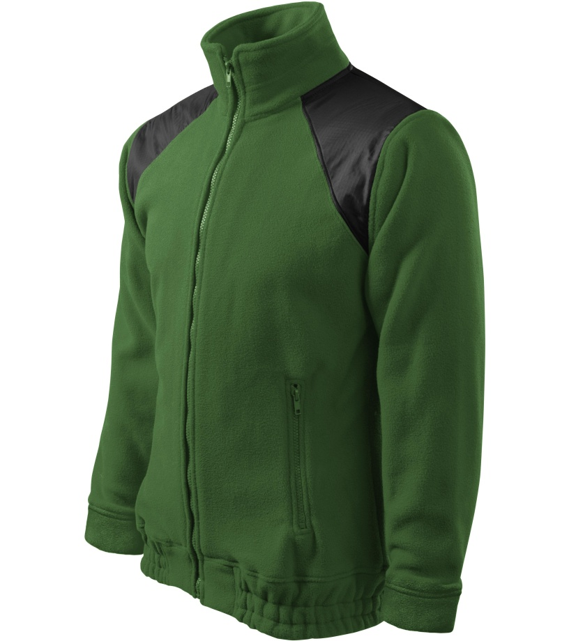 ADLER Jacket Hi-Q 360 Unisex fleece bunda 50606 lahvově zelená L