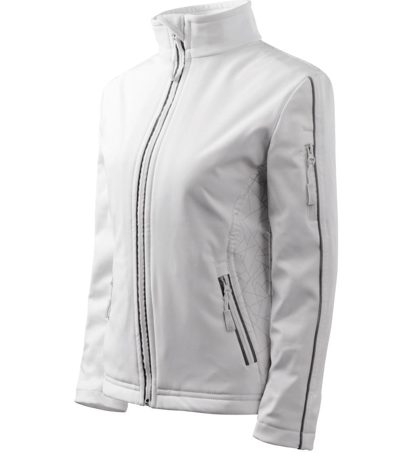 ADLER Softshell Jacket Dámská softshell bunda 51000 bílá S