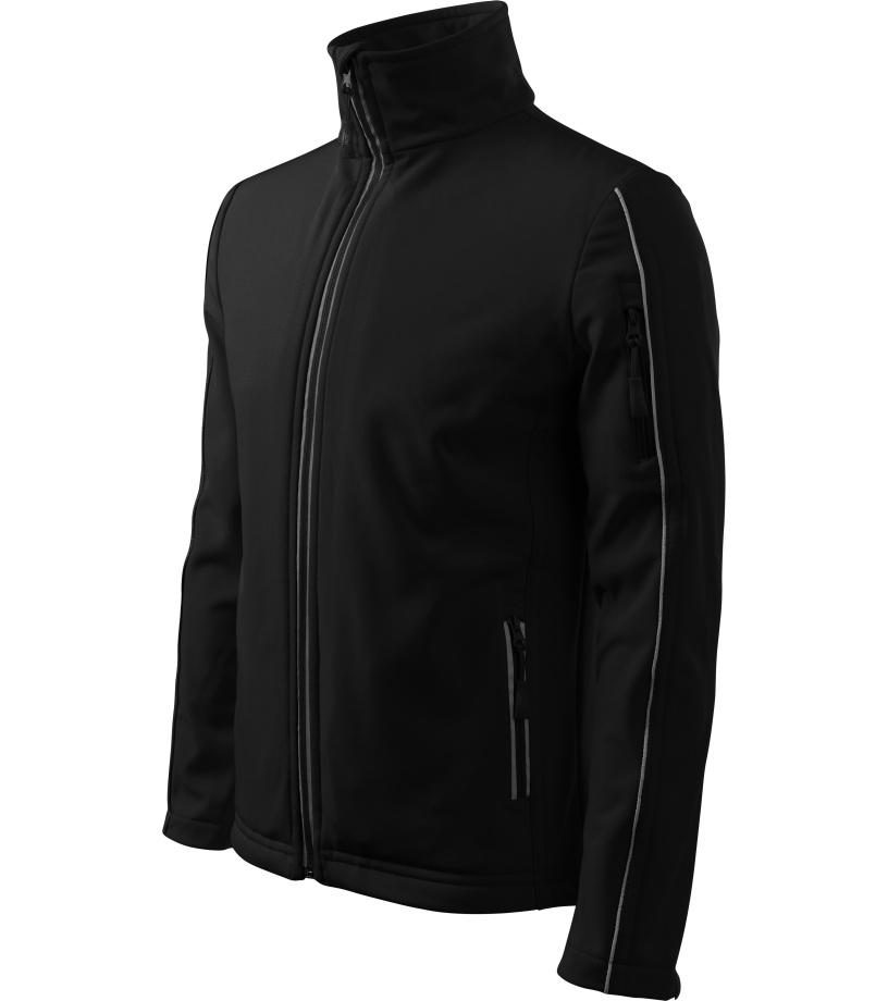 ADLER Softshell Jacket Pánská softshelll bunda 51101 černá XXL