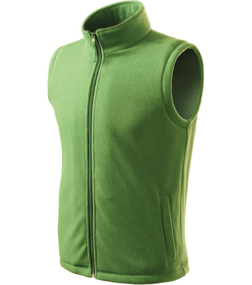 ADLER Next Unisex fleece vesta 51839 trávově zelená S