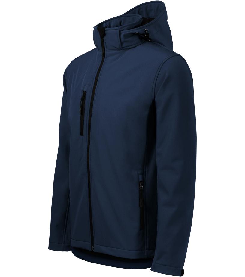 ADLER Performance Pánská softshell bunda 52202 námořní modrá