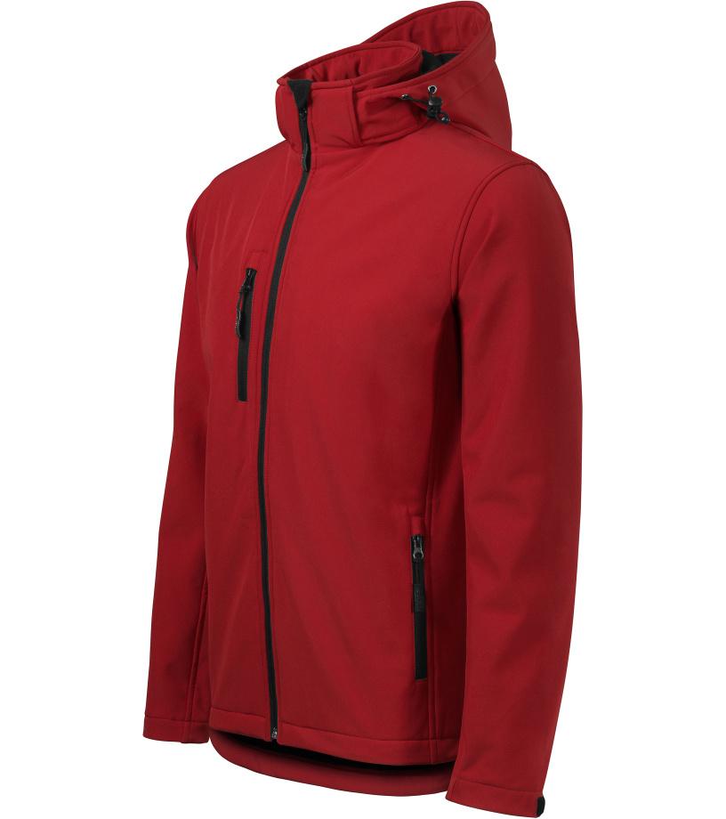 ADLER Performance Pánská softshell bunda 52207 červená M