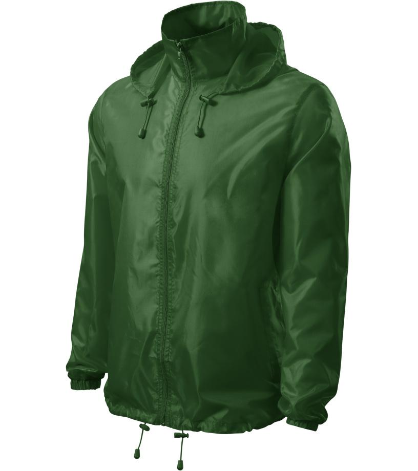 ADLER Windy Větrovka 52406 lahvově zelená XL
