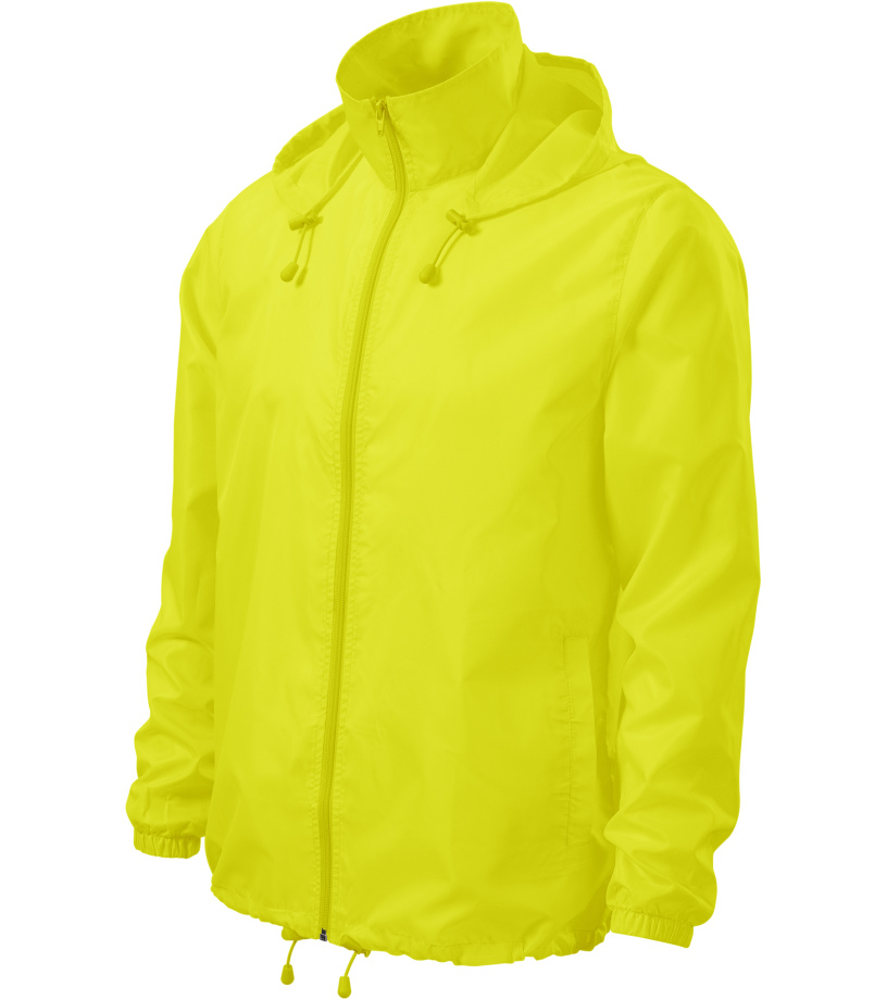 ADLER Windy Větrovka 52490 neon yellow XL