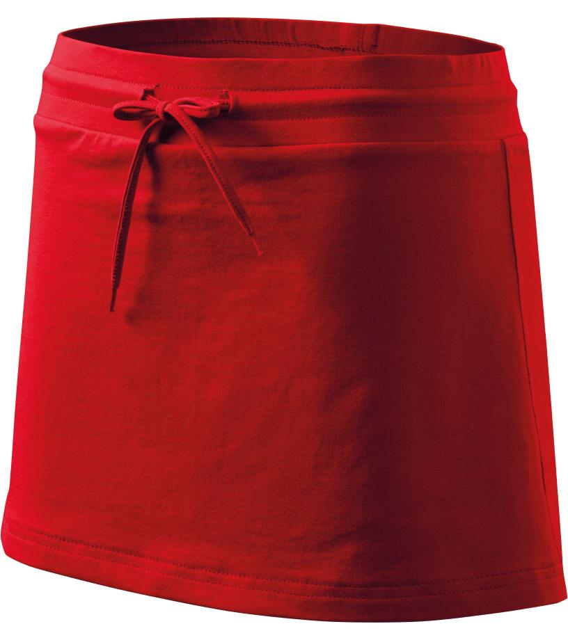 ADLER Sukně se všitými kraťasy 60407 červená XS