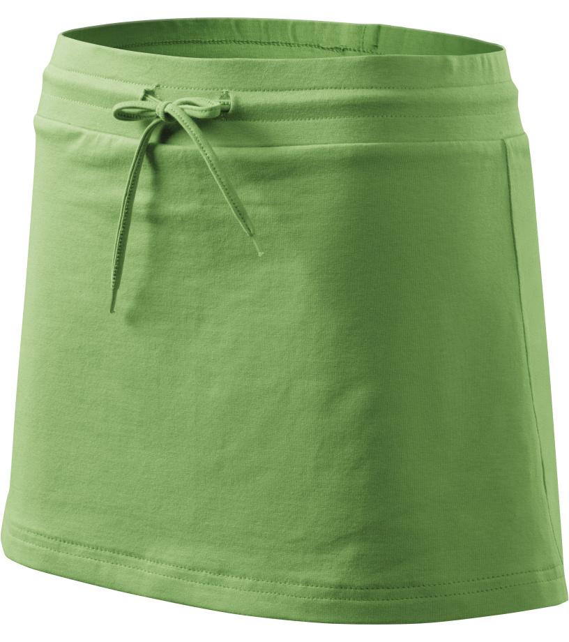 ADLER Sukně se všitými kraťasy 60439 trávově zelená