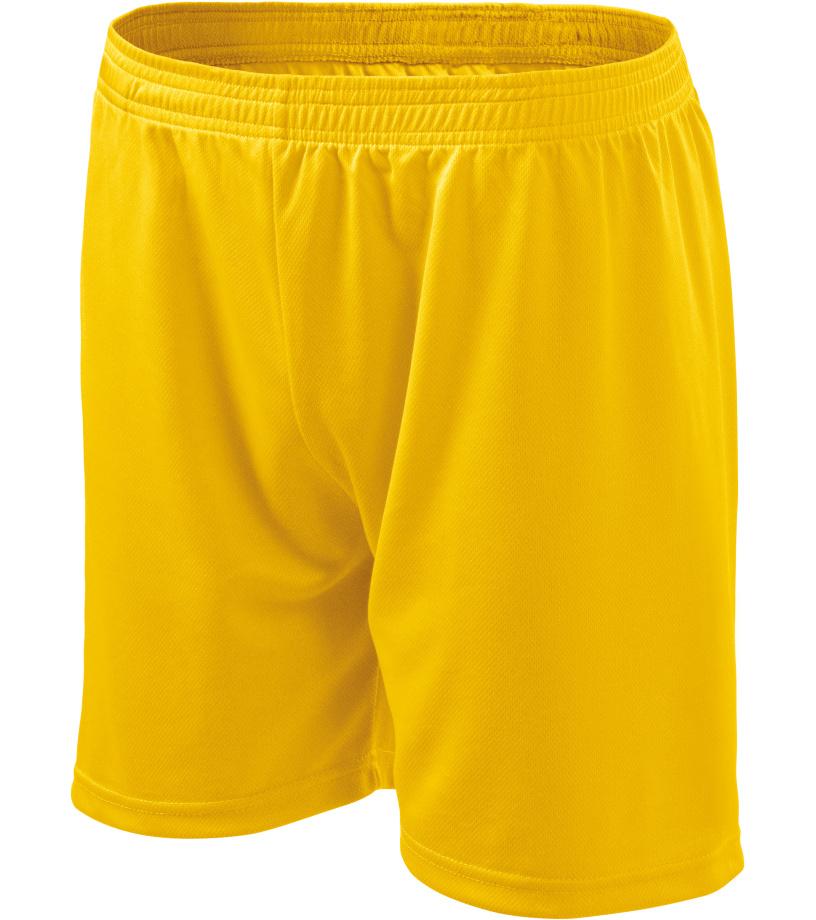 ADLER Playtime Pánské šortky 60504 žlutá
