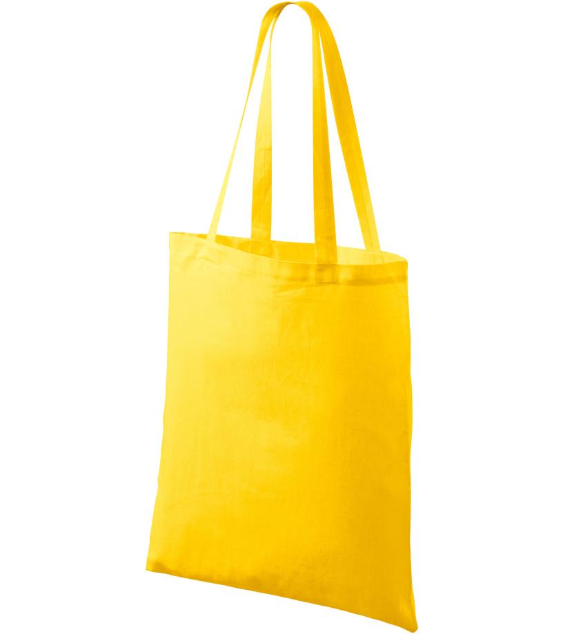 ADLER Nákupní taška malá 90004 žlutá UNI