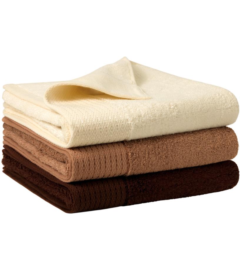 Malfini Bamboo towel 50x100 Ručník 95126 nugátová 50x100