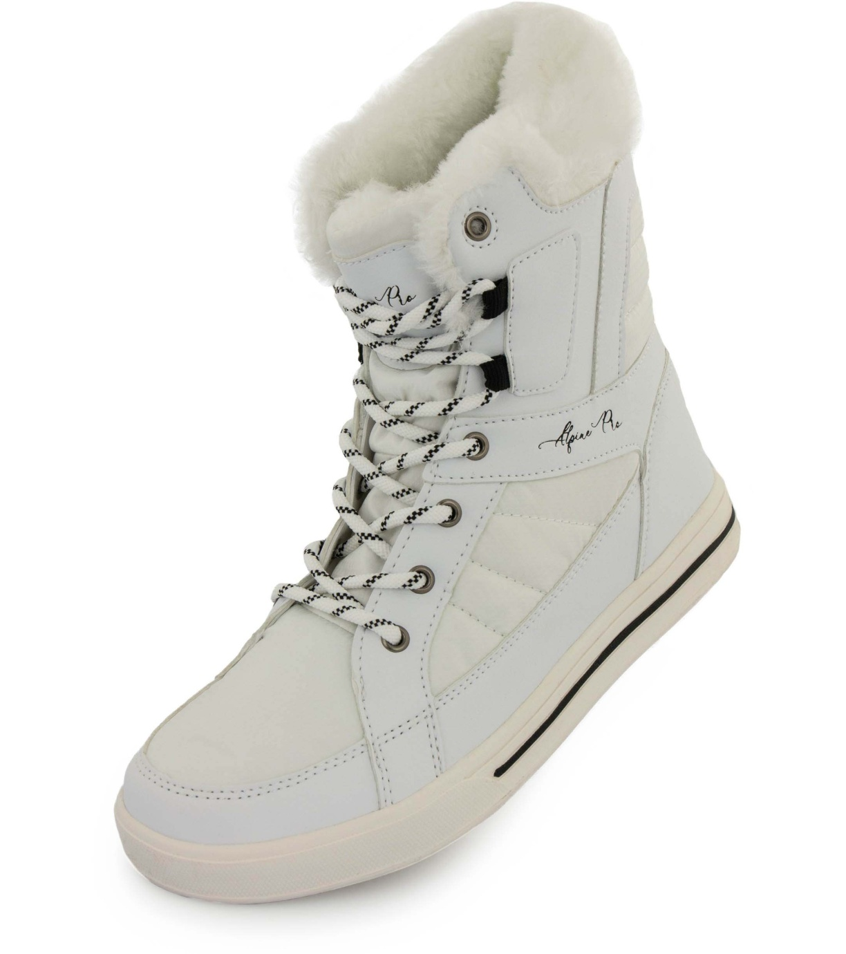 ALPINE PRO BORBA Dámské zimní obuv LBTP222000G bílá 38