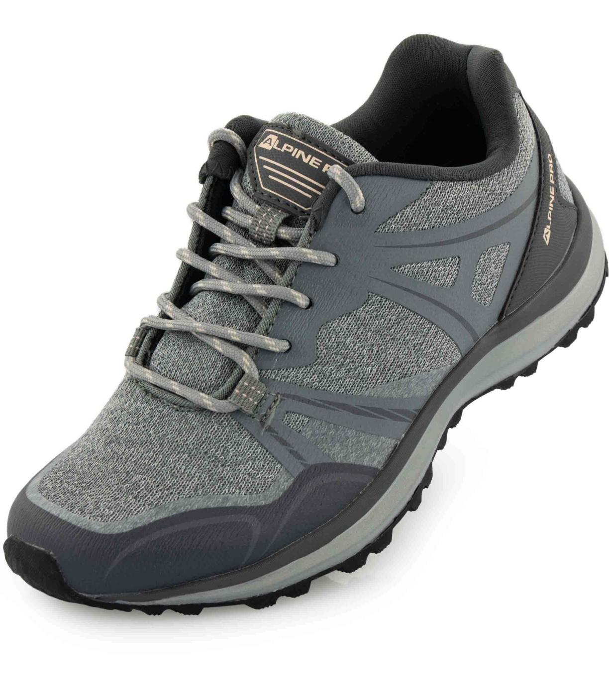 ALPINE PRO SVATA Dámská outdoorová obuv LBTP225774G šedá 36