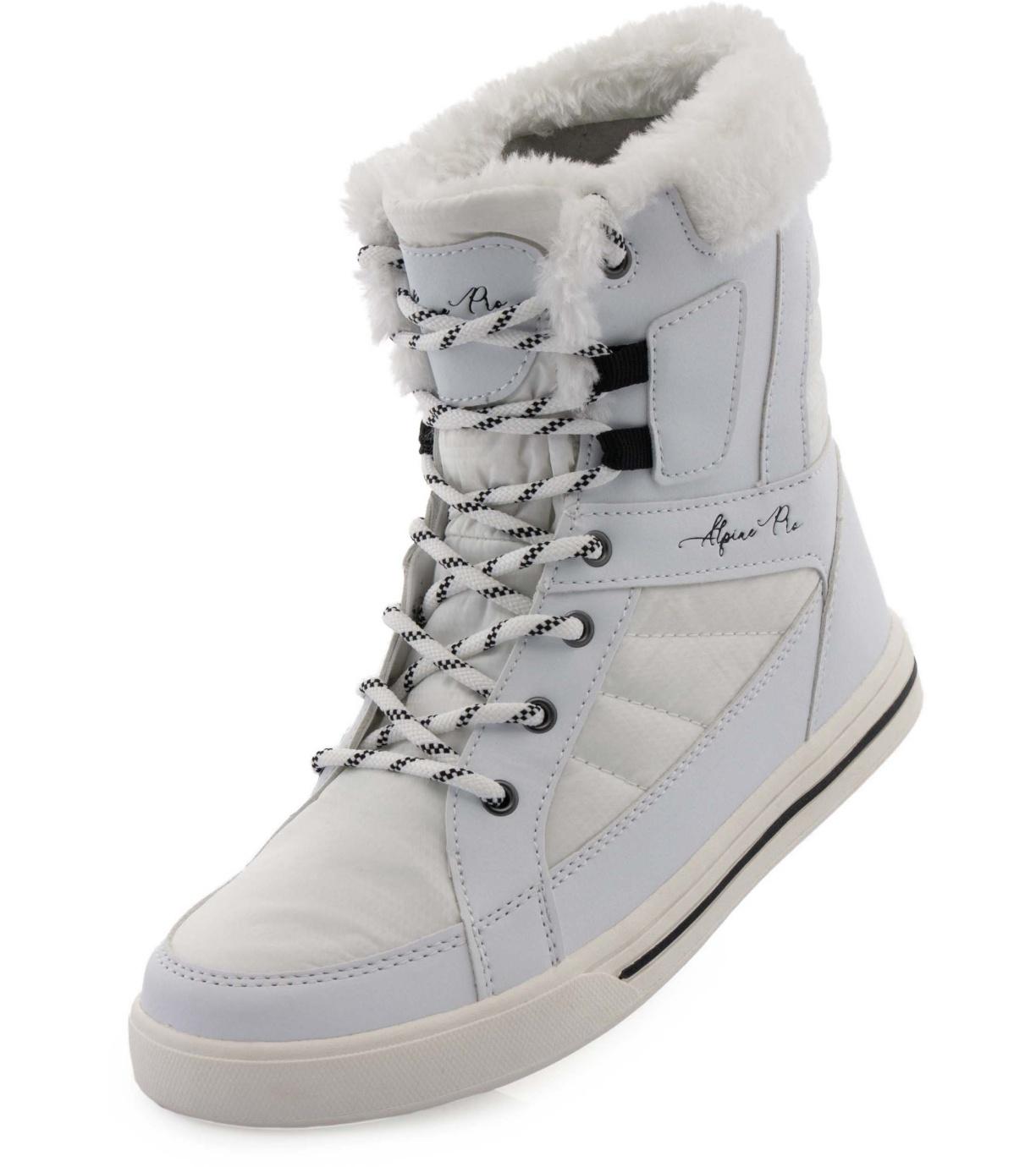 ALPINE PRO KOLINA Dámská zimní obuv LBTS286000G bílá 38